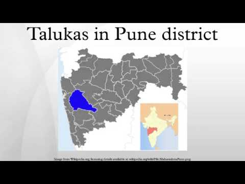 Talukas in Pune district
