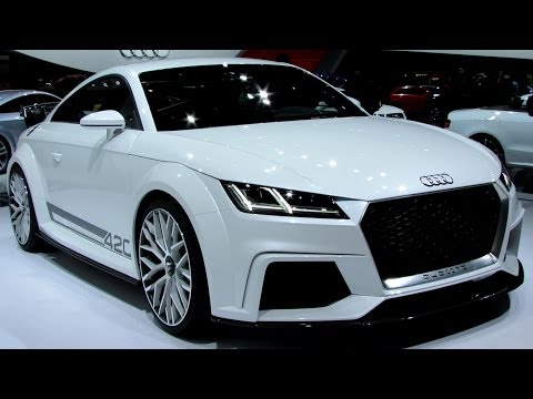 2015 Audi TT Quattro Sport 420 - Exterior and Interior Walkaround - Debut at 2014 Geneva Motor Show