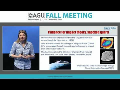 2017 AGU Fall Meeting Keynote Speaker: Dr.Joanna Morgan
