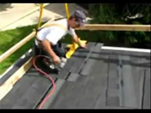 Residential Steep Slope Guard Rail Safety System , OSHA Compliant