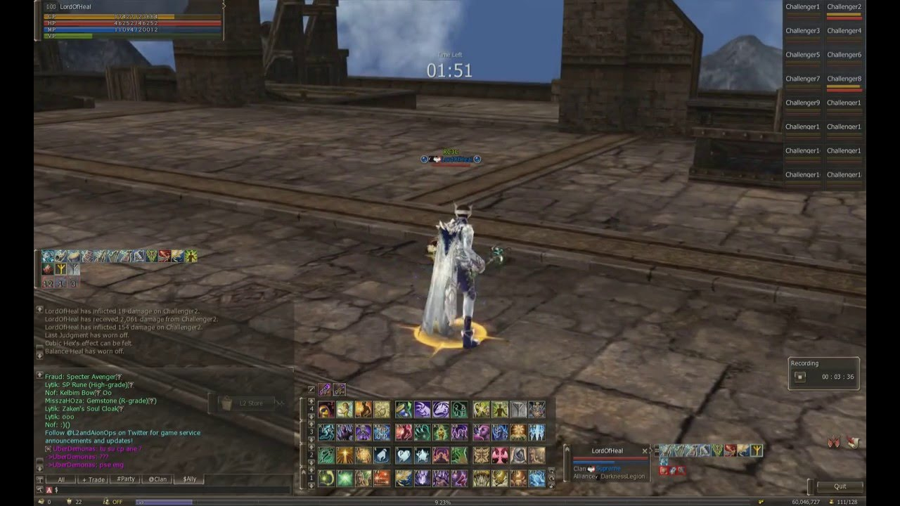 Lineage II - LordOfHeal on Ceremony of Chaos [Naia server]