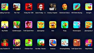 Игры на Андроид Ice Scream 2, Troll Quest Horror 2, Friday the 13th, Granny Chapter Two  Обзор