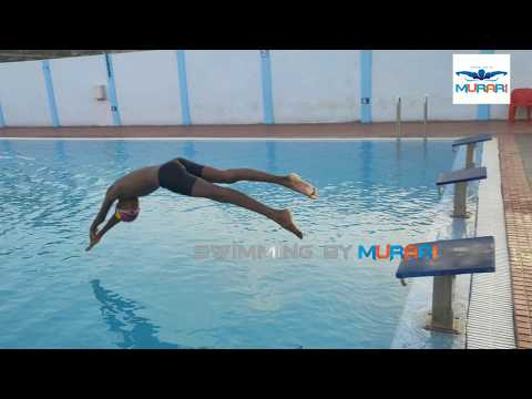 50 Meters Freestyle Swimming By Mani Kumar In Practice Time
