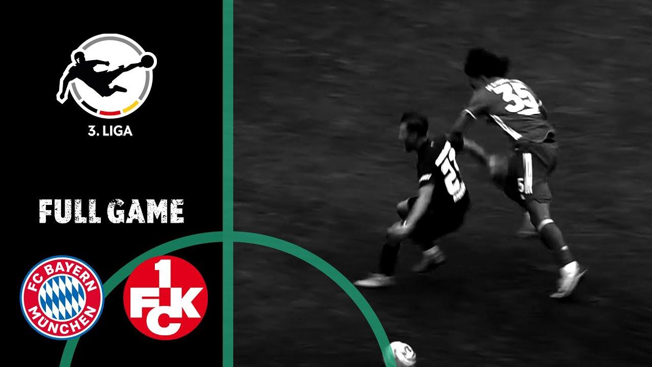 FC Bayern Munich II vs. 1. FC Kaiserslautern 0-0   Full Game   3rd Division 2020/21   Matchday 5