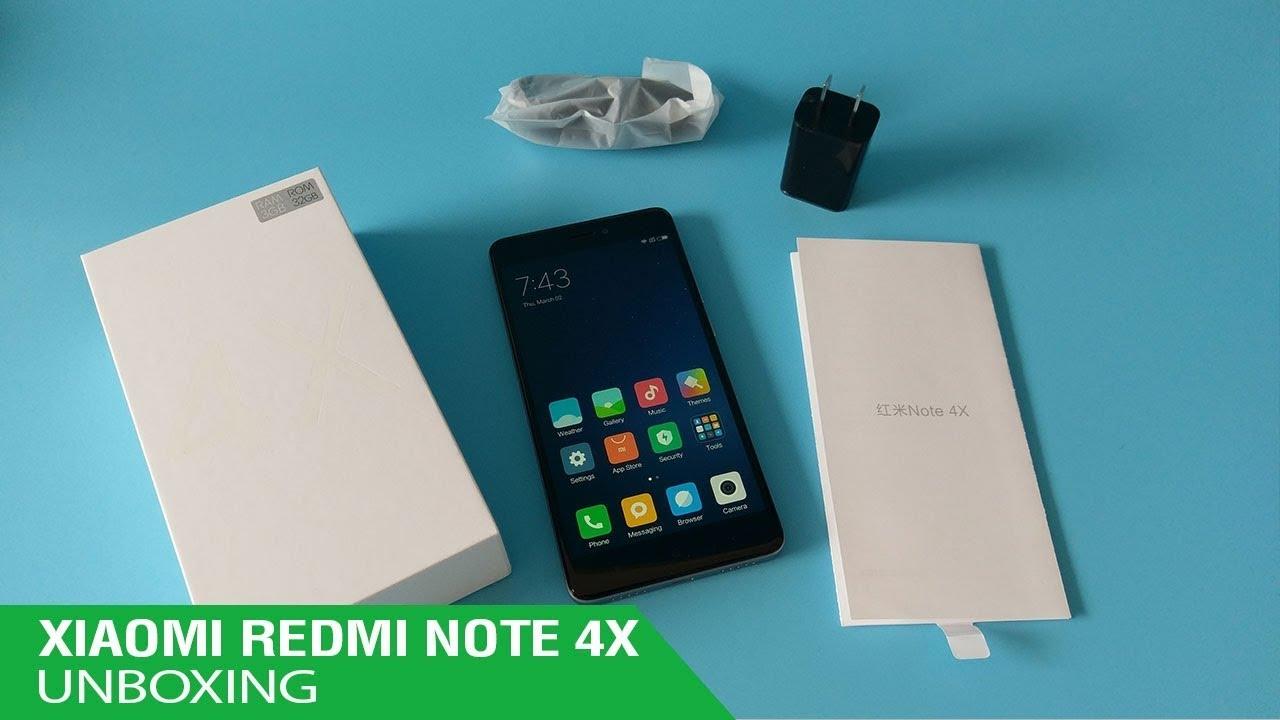 Unboxing Review Xiaomi Redmi Note 4x Ram 4GB ROM 64GB Full Black Edition