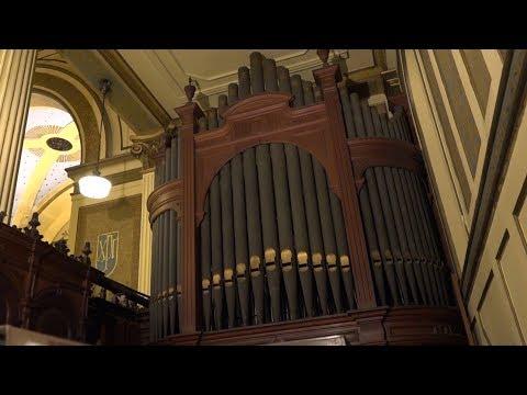 Órgano de la Catedral Anglicana San Juan Bautista