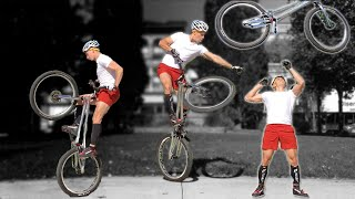 Bicycle Acrobat - Typical Training Ride