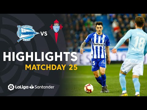 Highlights Deportivo Alaves Vs RC Celta (0-0)