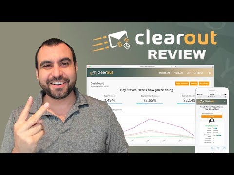 ClearOut Email Verification And Lead Finder APPSUMO Lifetime Deal $49 📬