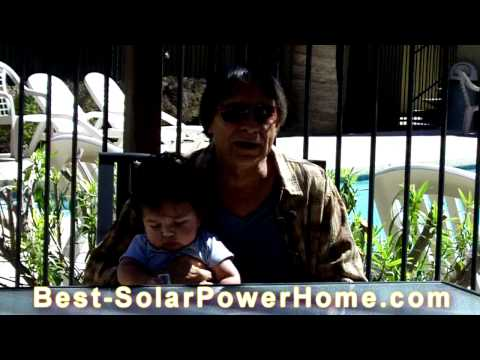 Solar Power Home Electricity - A System on the Frontier of Renewable Energy