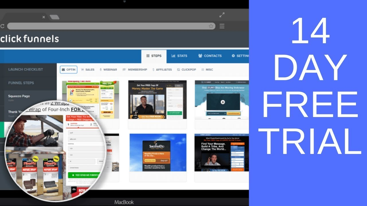 ClickFunnels 14 Day FREE Trial To Build Any Type Of Marketing Funnel Today