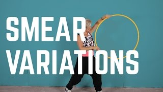 Smear Variations - Hooping Tutorial - 3 Ways to Smear with a Hoop