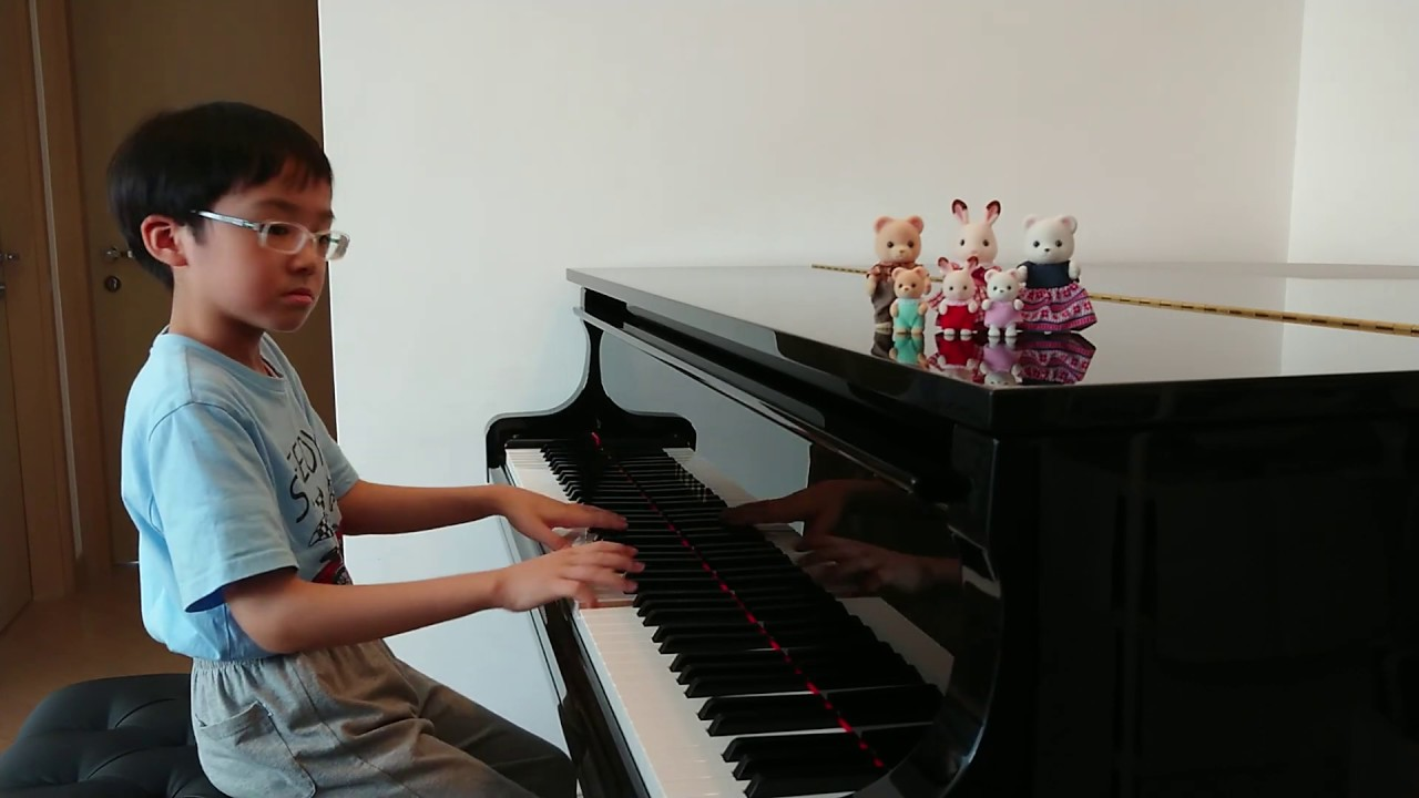 Polonaise in A-flat Major Op.53 of Chopin (Heroic Polonaise, 蕭邦 降A大調 波蘭舞曲 作品53), by Jonah Ho (age 9)