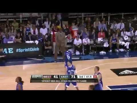 2012 NBA Celebrity All Star Game Highlights - YouTube