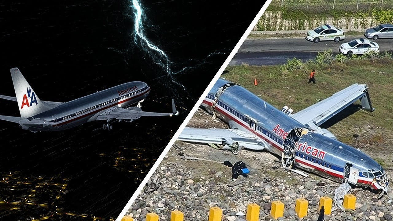 Boeing 737 Crashes After Landing Racing The Storm