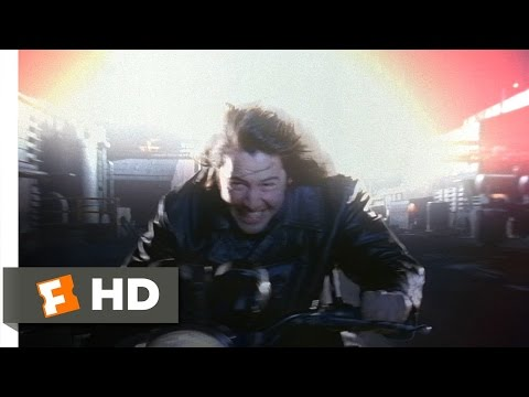 Chain Reaction (1/3) Movie CLIP - Outrunning the Explosion (1996) HD