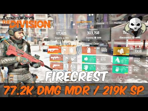 The Division 1.6 - I FINALLY GOT THE MDR!!! INSANE WEAPON DAMAGE & FIRE TURRET - Firecrest Hybrid