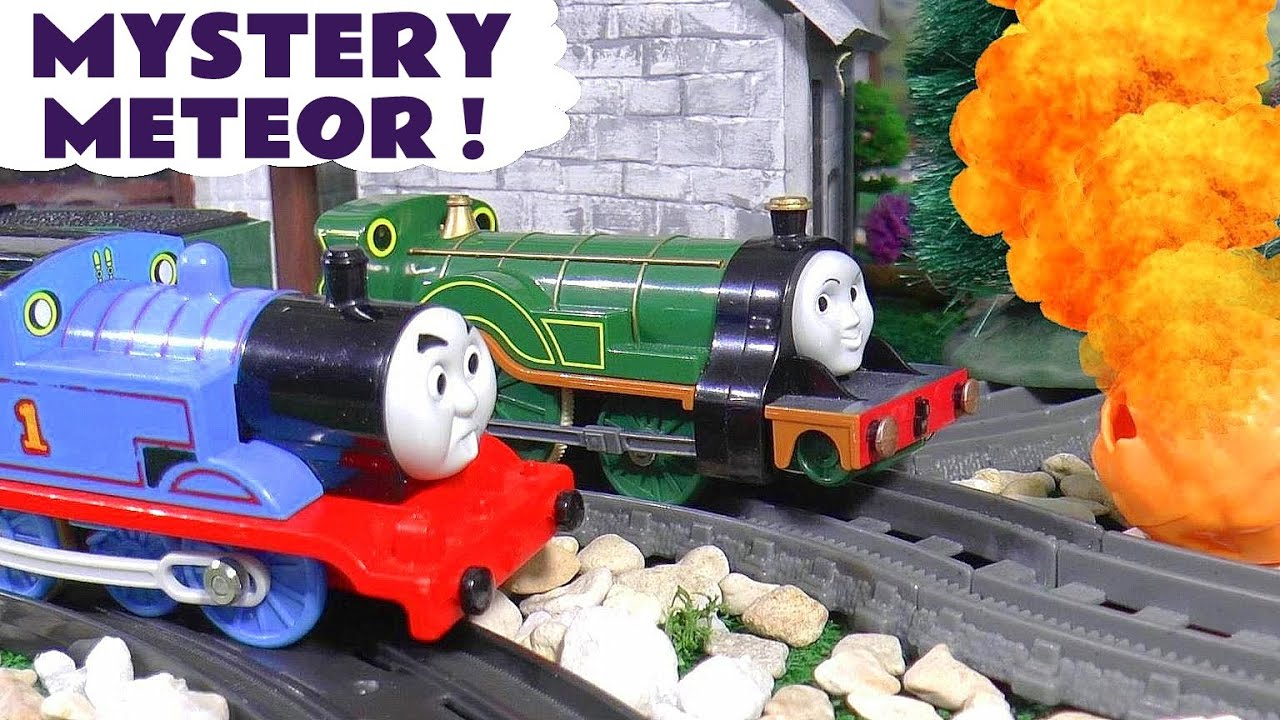 Fun Thomas and Friends Meteor Mystery Episode | Toy Train Story for Kids