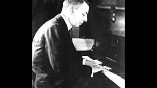 Sergei Rachmaninov - Moment musicaux No. 4, Presto in E minor