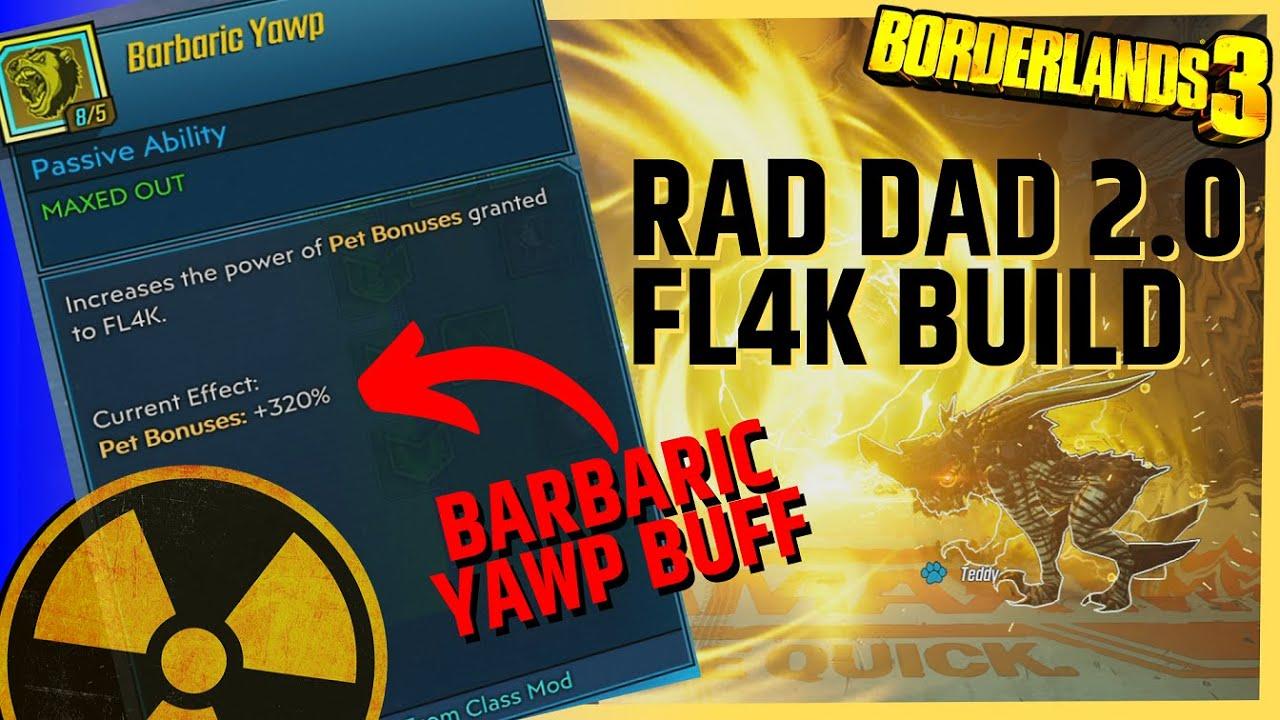 Fl4k Gamma Burst Build / After Patch Radiation Pet Build