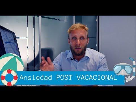 ¿Ansiedad Post Vacacional?