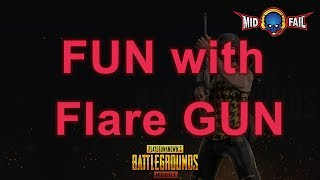 FUN with Flare gun ...JUST for fun #pubg #Chicken dinner # tamil