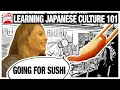 Learning Japanese Culture 101: Going for Sushi | JAPAN Forward