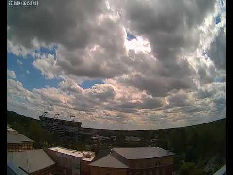 Cloud Camera 2018-04-16: East Carolina University