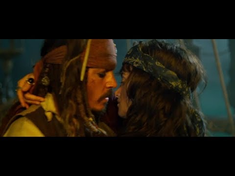 Pirates Of The Caribbean 4 2011 In Hindi : Jack And Angelika  Romance [06]
