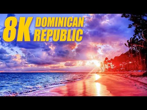 Dominican Republic in 8K HDR 60FPS DEMO