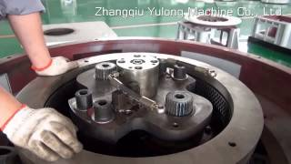pellet mill mould and rollers assemble