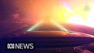 Dramatic Video Shows Evacuation From Sunshine Coast Fire Storm | ABC News
