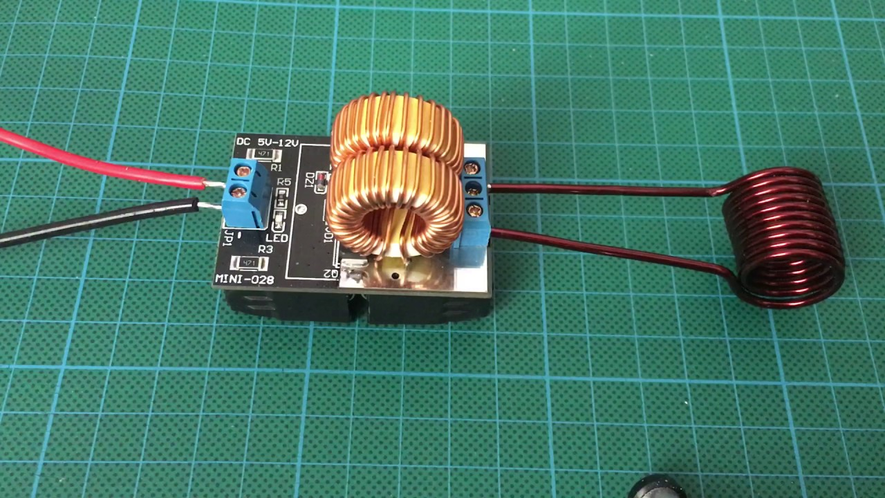MINI-028 ZVS Zero Voltage Switching driver induction heater from ...