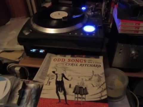 Turk In The Murkadurk -  Sung by Cyril Ritchard - Rare Vinyl LP