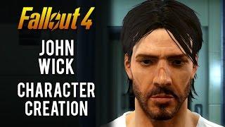 Fallout 4  Keanu Reeves  John Wick  Character Creation