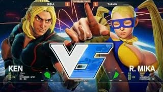 SFV TWFIGHTER : TOP 8 and GRAND FINAL - Weekly Events [2016-11-10]