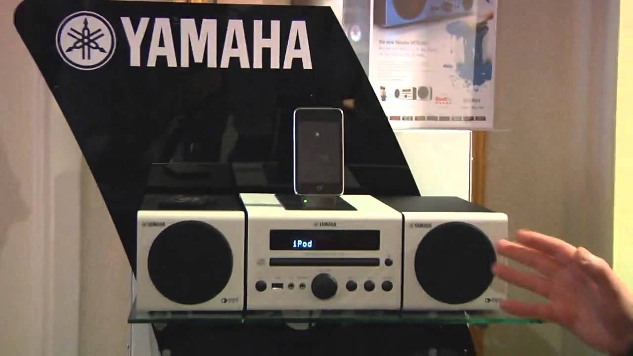 yamaha mcr 040 and mcr 140 quality sound systems with mul. Black Bedroom Furniture Sets. Home Design Ideas