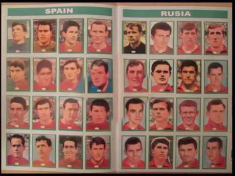Album Campeonato Mundial de Futbol Inglaterra 1966