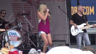 "Kelsea Ballerini, "" Love Me Like You Mean It"", CMA Fest 2015"