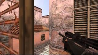 cs 1.6 de_mirage awp/scout wallbang from tt respawn