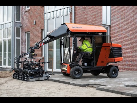 Машина за полагане на бетонови изделия Optimas S19