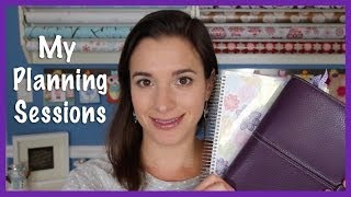My Planning Sessions: How I Use My Planners (2014)