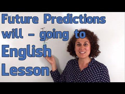 Future Predictions 'Will' and 'Going To' - English Grammar Lesson  (Pre-Intermediate)