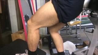 Vスクワットで四頭筋にのるのが分かりやすい脚 thumbnail