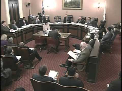 Senate Rules Committee (1 of 2) 2/1/2012