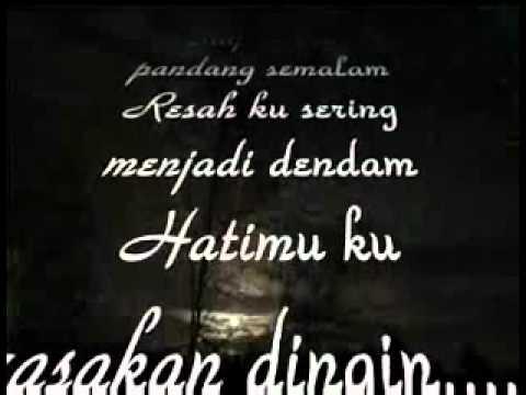 Malam - M Nasir with lyrics