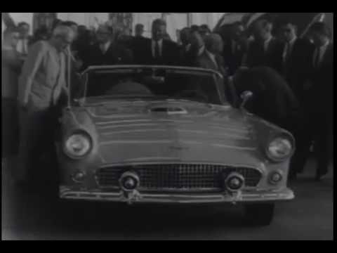 Ford Thunderbird: Robert McNamara Demonstration