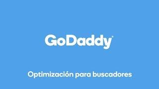 Mejora tu posicionamiento con Optimización para buscadores de GoDaddy
