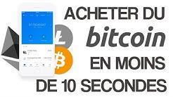 Comment acheter et vendre des Bitcoins en moins de 10 secondes sur son smartphone