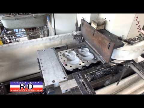 Aluminum Cheater Cylinder Head Resurfacing @ Costa Mesa R&D Automotive Machine Shop